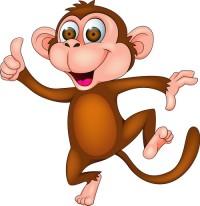 поздравления с новым годом обезьяны картинки, обезьяна