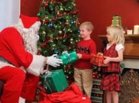 Новогодний спектакль для детей дома