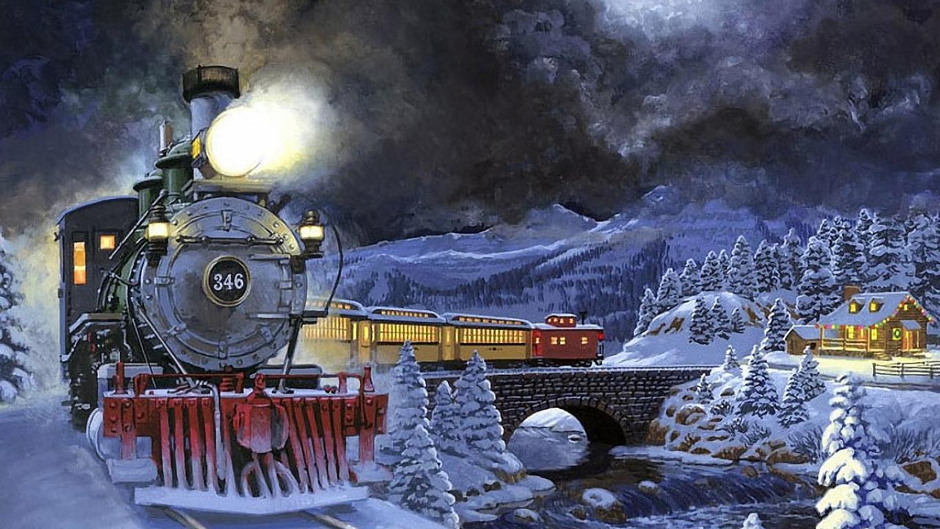Открытка с паровозом с новым годом, поздравительных открыток