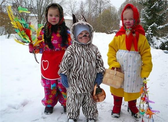 Колядки на Рождество детям