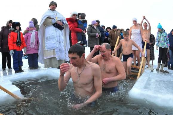 Поздравление от главы на крещение