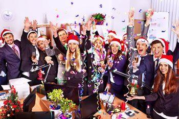 Новый Год в отделе - поздравления