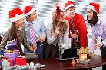 Поздравления коллегам с новым годом