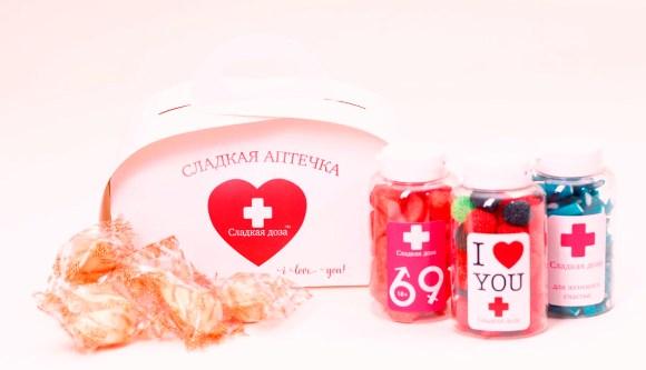 сладкая аптечка на свадьбу