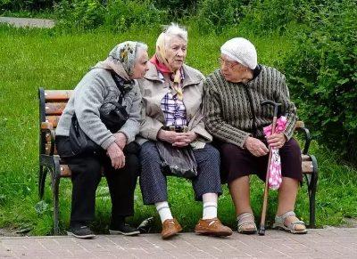 сценка про бабушек