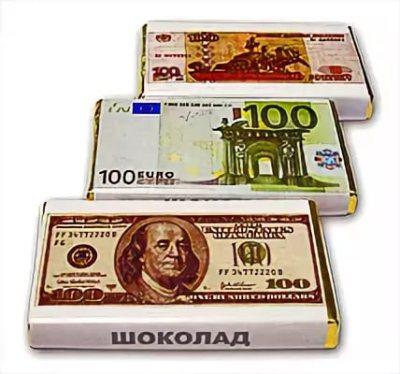денежные шоколадки