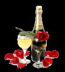 шампанское смс на новый год