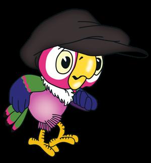 Поздравление с Новым Годом от Попугая Кеши