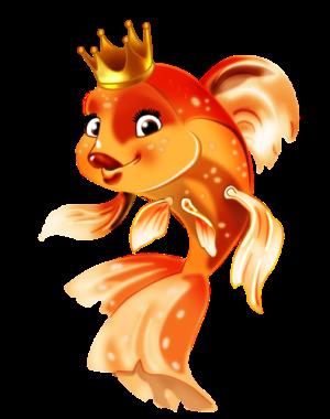 Поздравление с Новым Годом от золотой рыбки