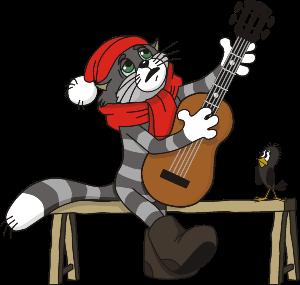 Поздравление с Новым Годом от кота Матроскина