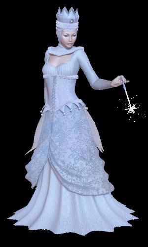 Поздравление с Новым Годом от Снежной Королевы