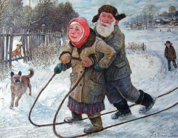 С Новым Годом, пожилые!