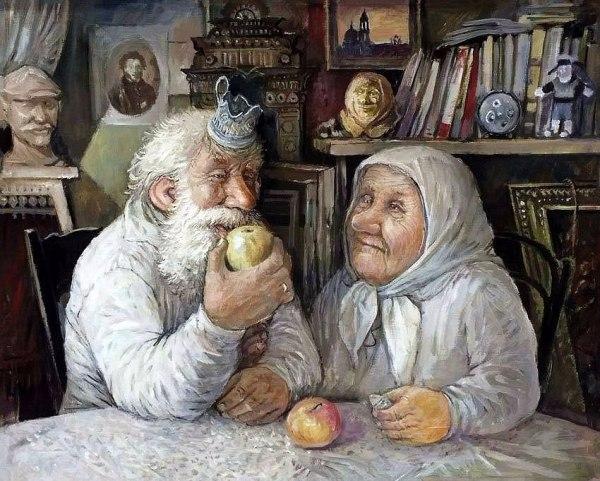 Дед Иван и бабушка Марья