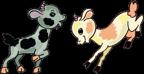 Поздравление от семерых козлят на 2027 год козы