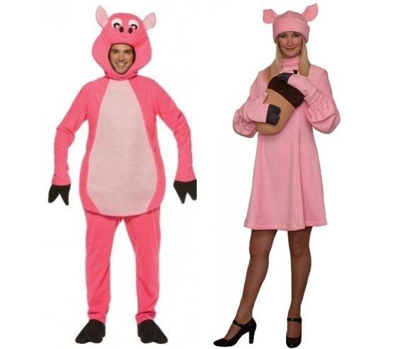 свиньи на празднике
