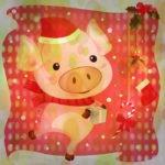 свинья новогодняя
