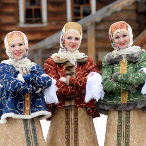сценка Три девицы в Новый Год