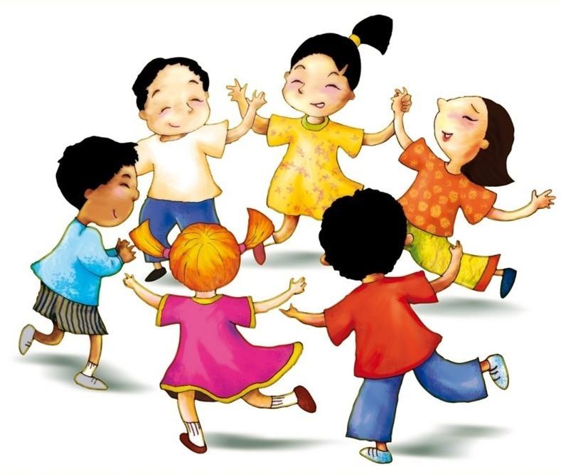 Марта картинках, картинки анимации дети в хороводе