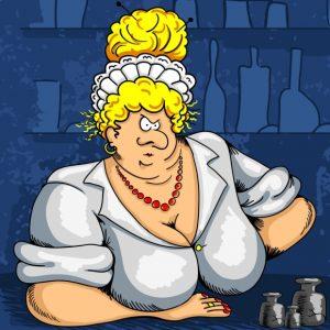 сценка на юбилей женщины от продавщицы