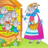 Сценарий мюзикла ко дню матери и 8 марта «Волк и семеро козлят на новый лад» для взрослых