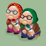 """Сценка на 8 марта для школьников: """"Разговор двух бабушек о наболевшем"""""""