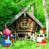 Сказка на 8 марта: «Красная Шапочка и Баба-Яга»