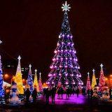 Муз.сценарий новогоднего концерта на площади у елки в год свиньи