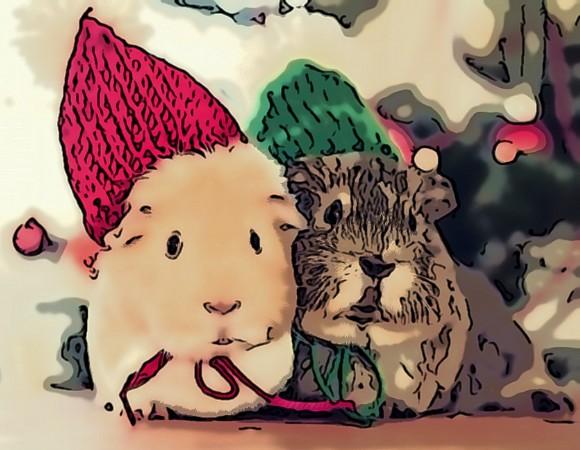 сценарий с крысой для взрослых на новый год