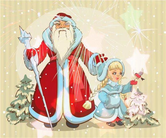 Новогоднее театрализованное представление детям