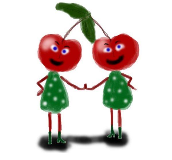 мини музыкальная сценка про зож, фрукты