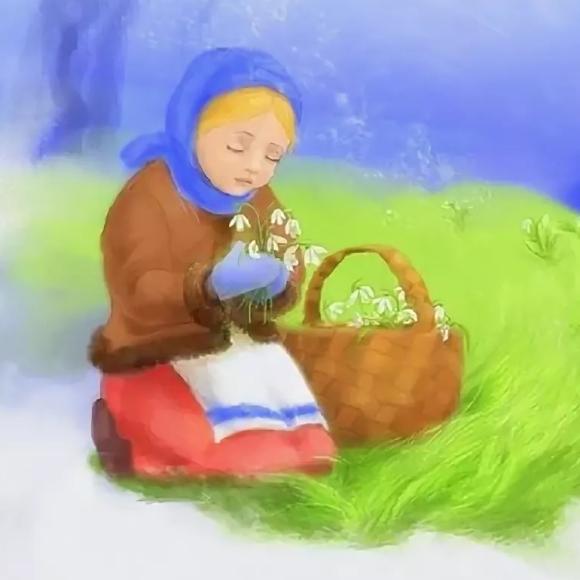 мини-сказка 12 месяцев для детей