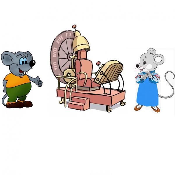 сценка на Новый Год мыши в школе