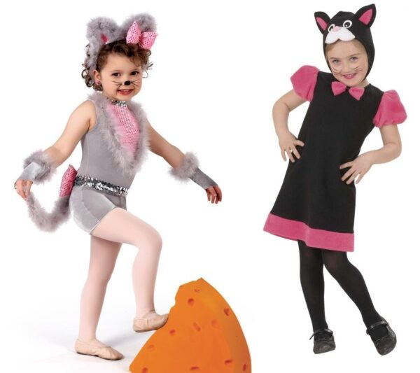 сценка на год кошек детям