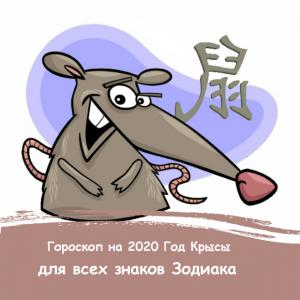 Шуточный гороскоп в стихах на год крысы для взрослых