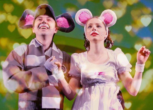 Новогодний спектакль на год мыши по мотивам пьесы Дюлы Урбан - Все мыши любят сыр