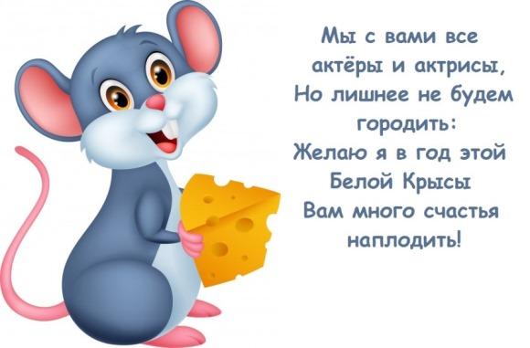 коротенькие поздравления смс год крысы