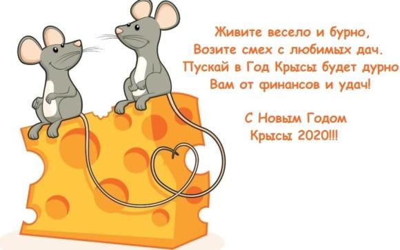 Поздравления с Новым Годом мыши
