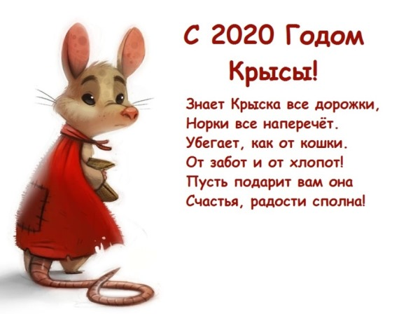 пожелания друзьям в год крысы