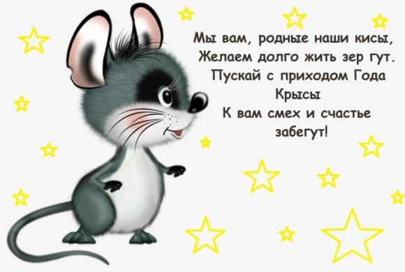 Поздравления с годом крысы по гороскопу