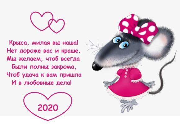 поздравления с крысиным годом шуточные