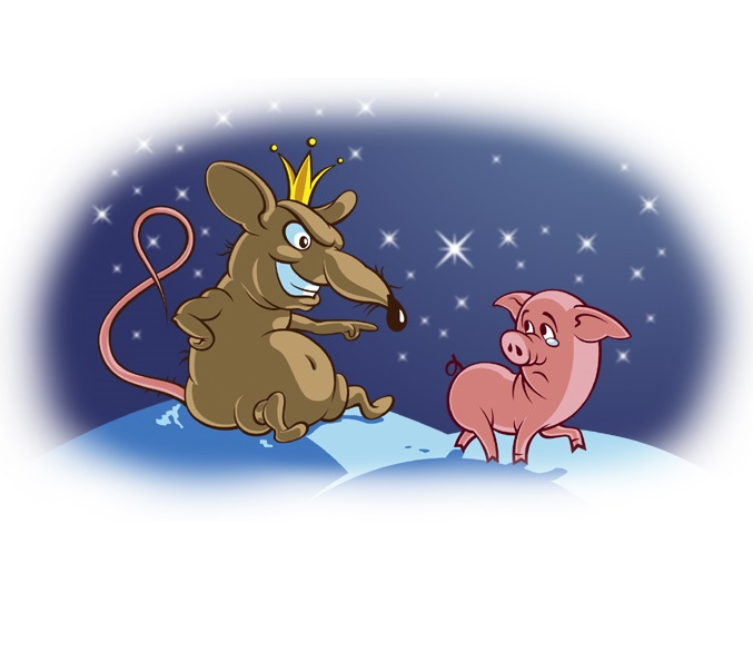 Новогодний сценарий для детей год крысы, проводы свиньи