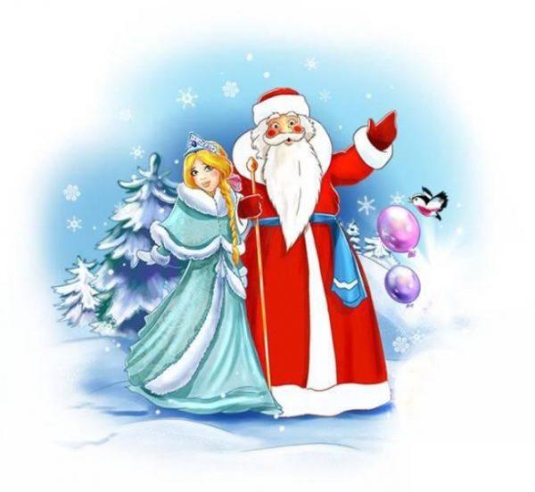 сценарий для Деда Мороза и Снегурочки по вызову детям