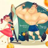 "Сценарий корпоратива на 23 февраля: ""Самый сильный пол"""