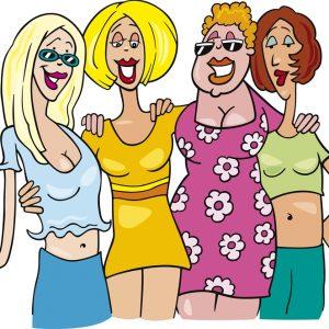 Сценка на юбилей женщине - Тяжелая женская доля