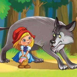Сценка на день рождения девочке с Красной Шапочкой и волком