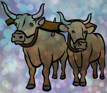 поздравления коллегам на новый год быка