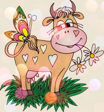 пожелания подругам на новый год быка