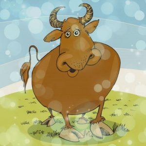 шуточные конкурсы (пословицы) про быка