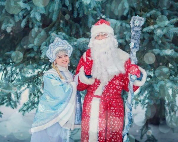 сценарии с Дедом Морозом и Снегурочкой для детей