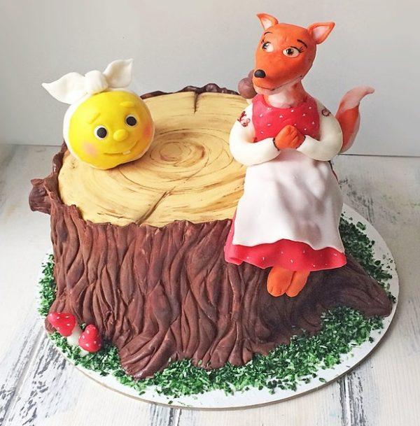 Сказка переделка для взрослых про колобка (тортика)